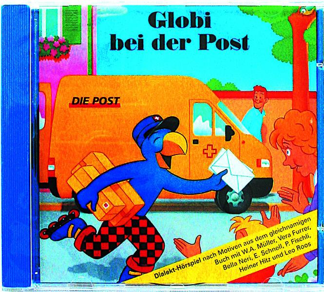 Globi bei der Post