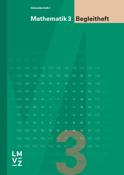 Mathematik 3, Sekundarstufe I, Begleitheft