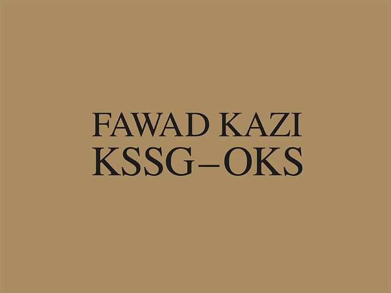 Fawad Kazi KSSG – OKS