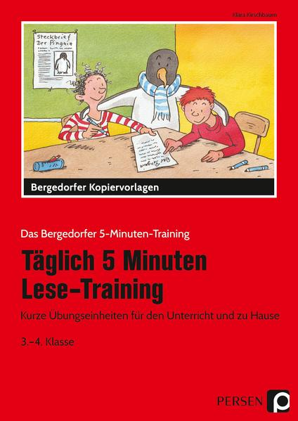 Täglich 5 Minuten Lese-Training - 3./4. Klasse