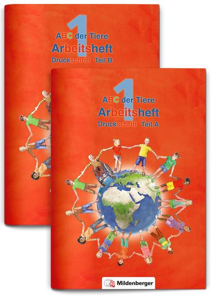 ABC der Tiere 1 – Arbeitsheft Druckschrift, Teil A und B · Neubearbeitung
