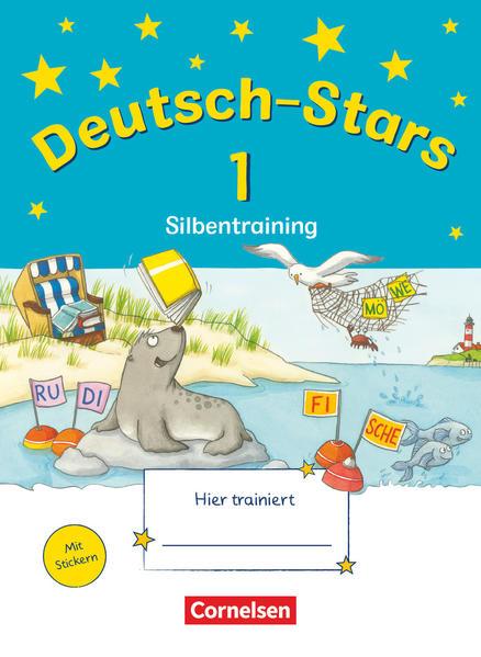 Deutsch-Stars - Allgemeine Ausgabe / 1. Schuljahr - Silbentraining