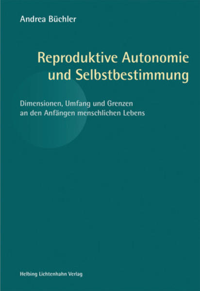 Reproduktive Autonomie und Selbstbestimmung