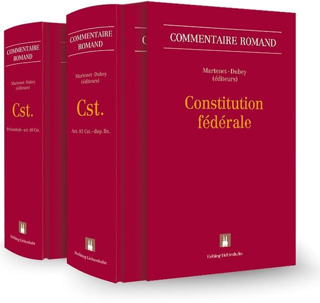 Constitution fédérale (Cst.)