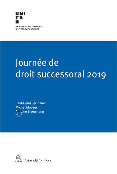 Journée de droit successoral 2019