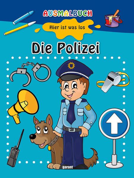 Ausmalbuch - Die Polizei