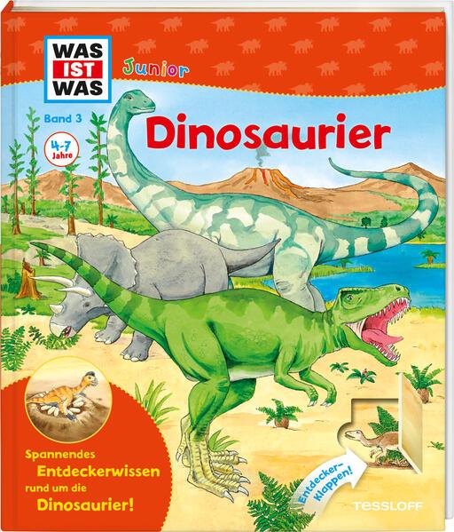 WAS IST WAS Junior Band 3. Dinosaurier