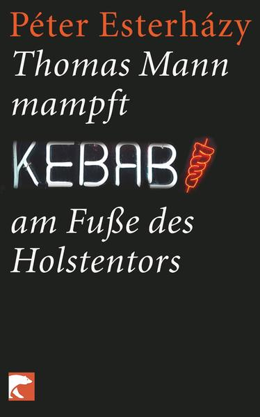 Thomas Mann mampft Kebab am Fuße des Holstentors