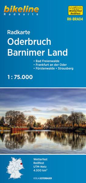 Radkarte Oderbruch Barnimerland