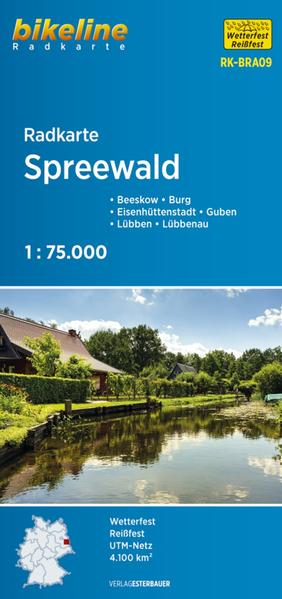 Radkarte Spreewald (RK-BRA09)