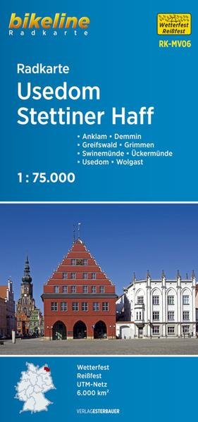 Radkarte Usedom Stettiner Haff (RK-MV06)