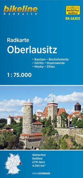 Radkarte Oberlausitz (RK-SAX03)