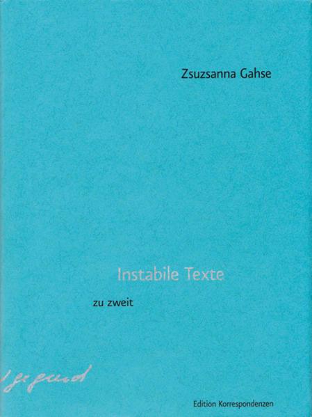Instabile Texte