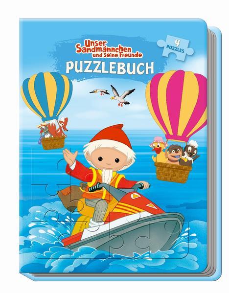 Trötsch Unser Sandmännchen und seine Freunde Puzzlebuch
