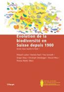 Evolution de la biodiversité en Suisse depuis 1900