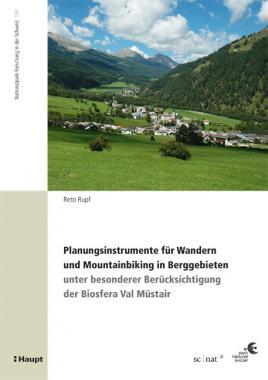 Planungsinstrumente für Wandern und Mountainbiking in Berggebieten